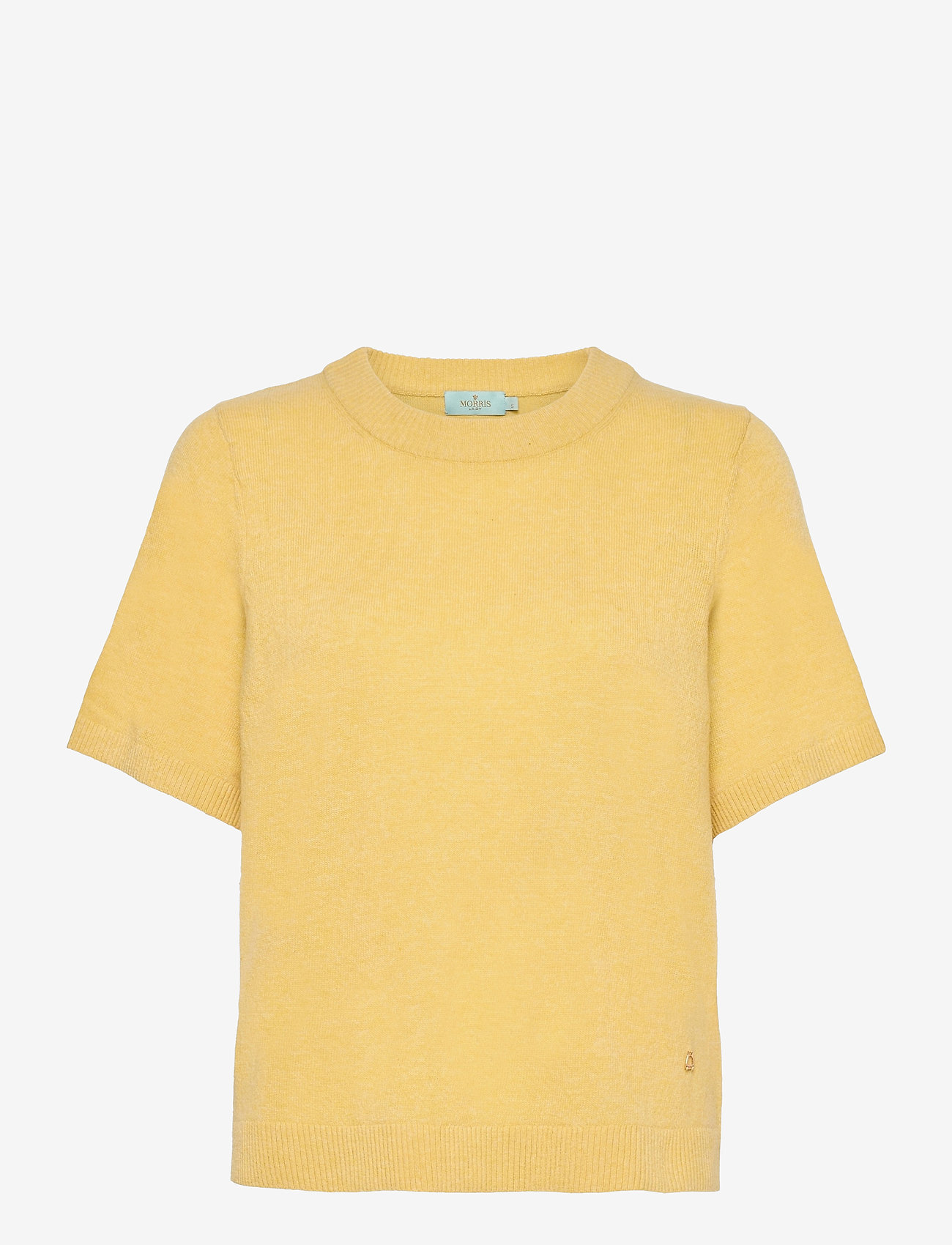 Morris Lady - Jean Knit - knitted tops - yellow - 0
