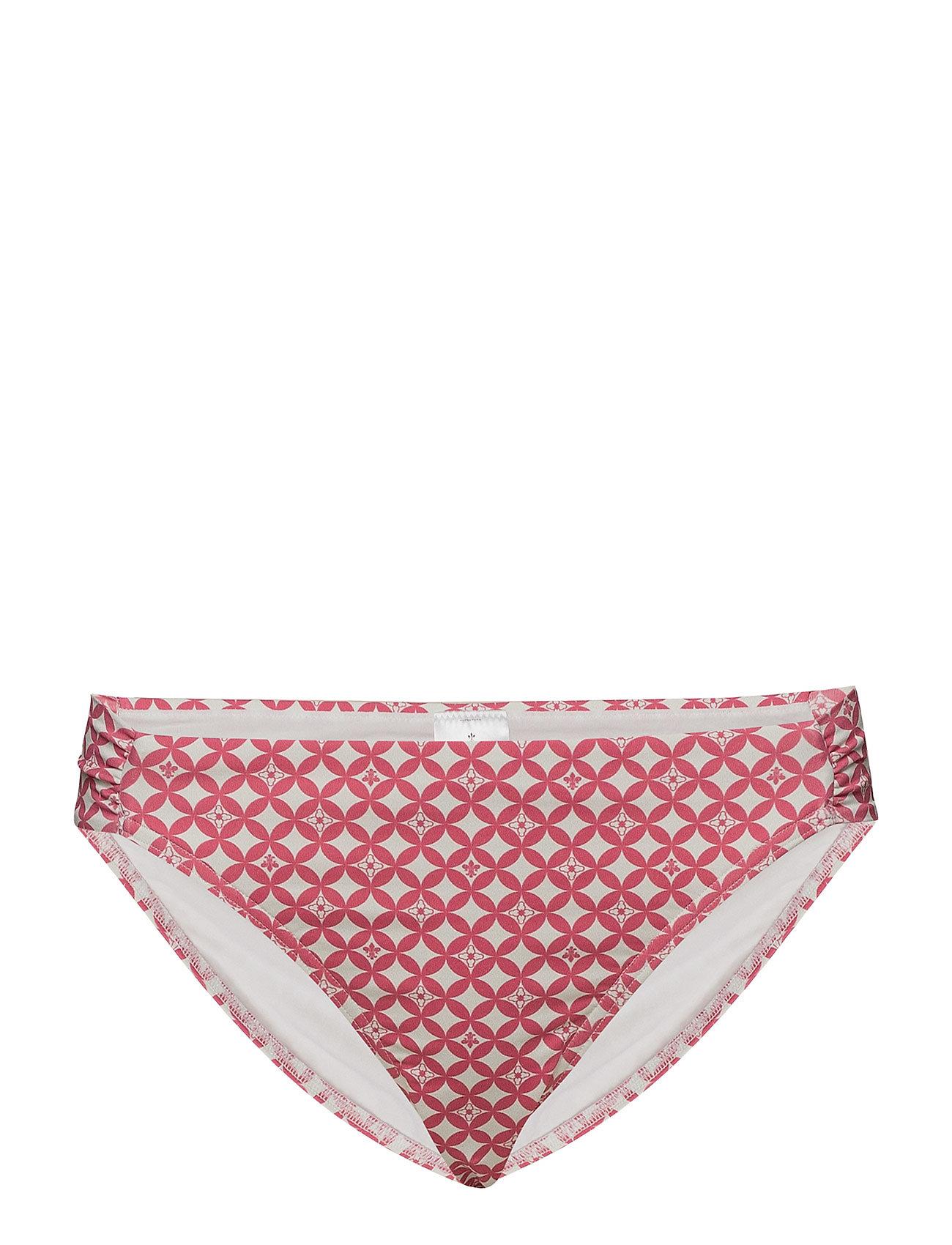 Morris Lady Elaine Pattern Bikini Bottom - CERISE