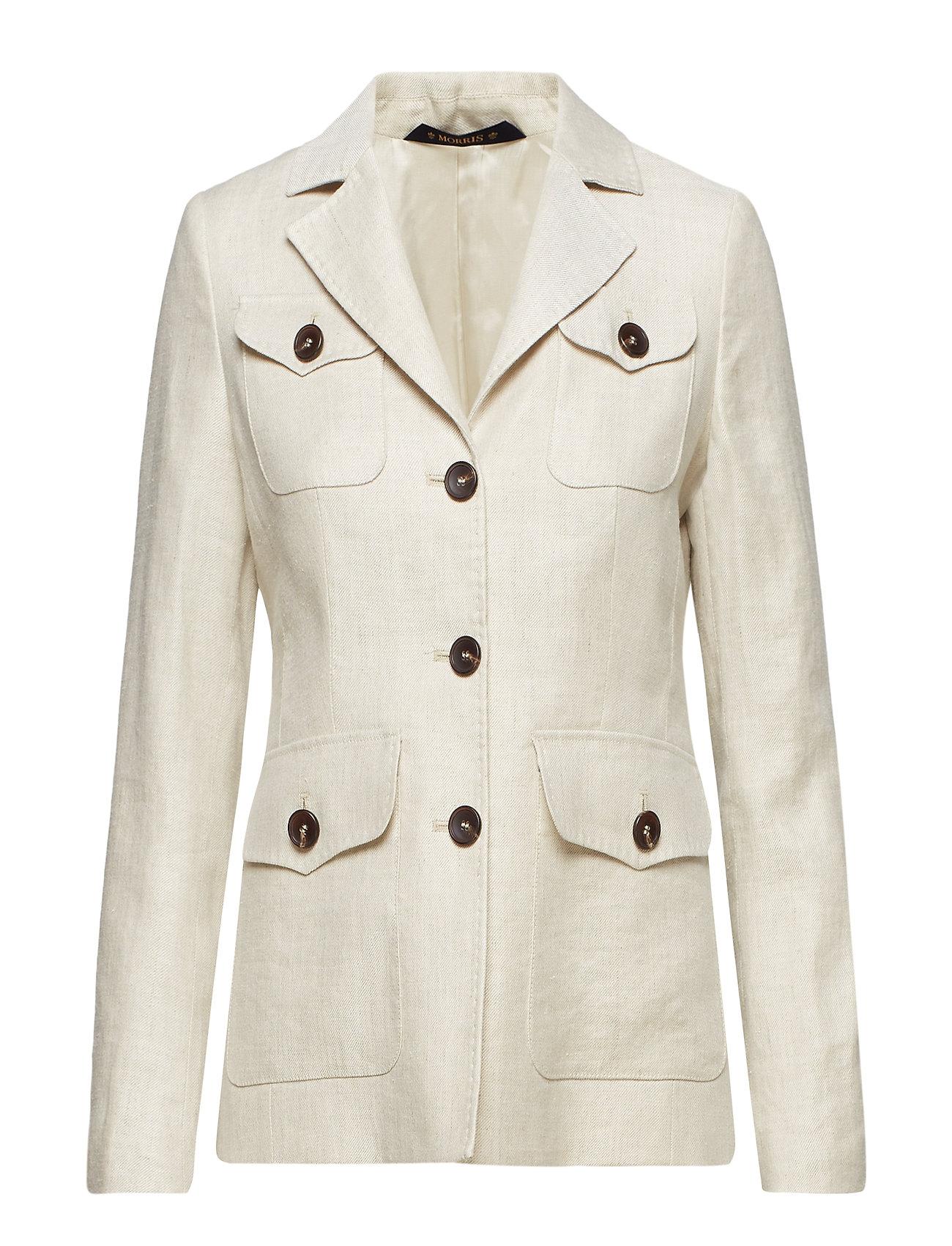 Morris Lady vita Safari Blazer Ytterkläder