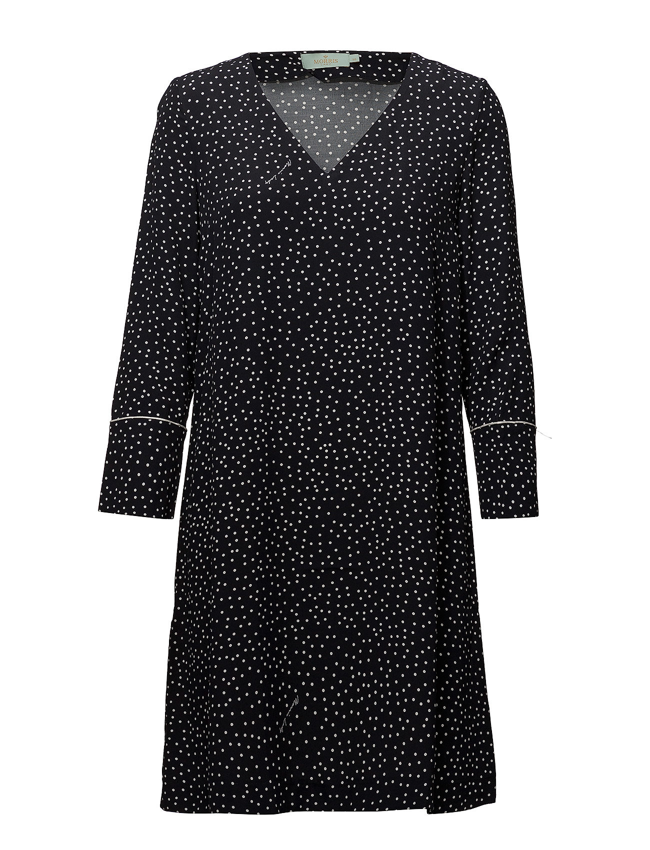 Morris Lady Éve Print Dress - BLACK