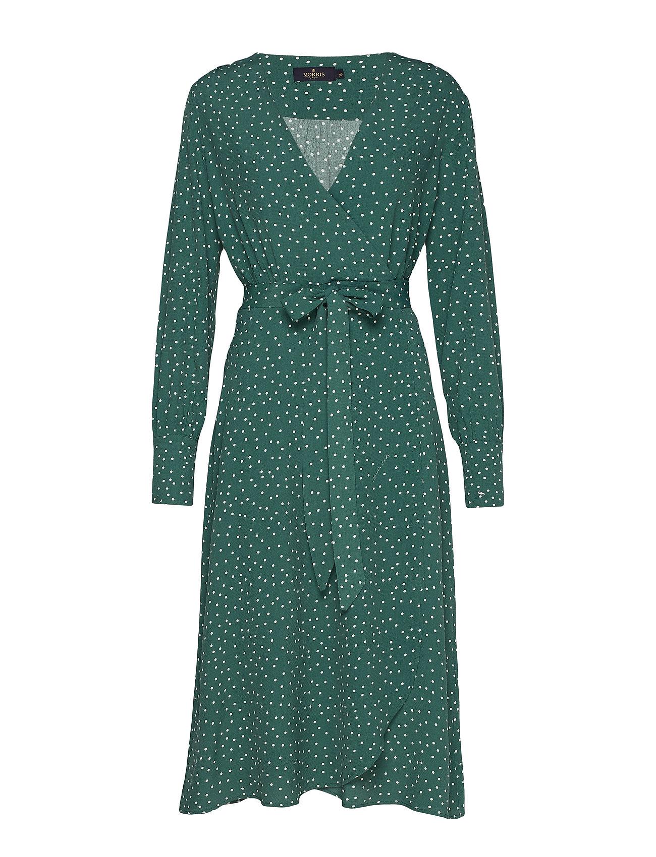 Morris Lady Aurélie Wrap Dress - GREEN