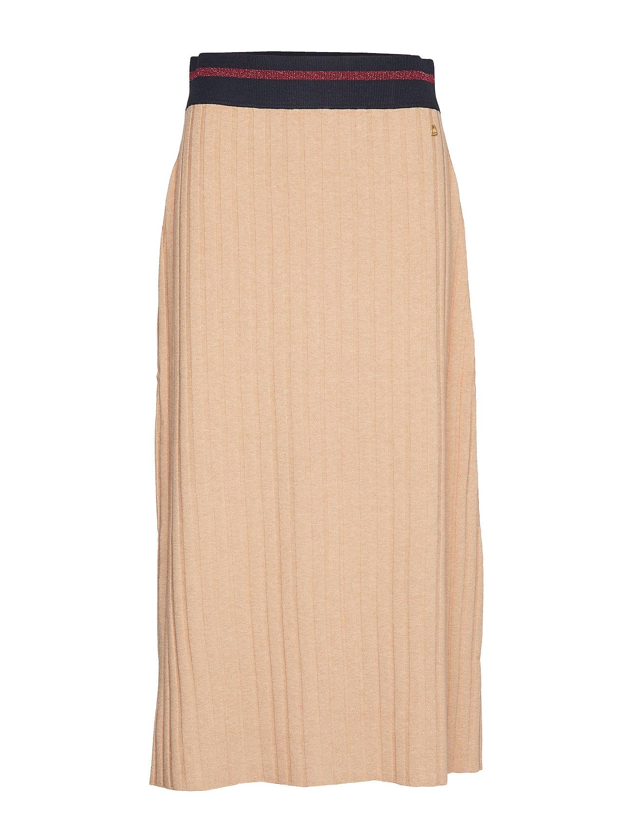 Image of Alette Knit Skirt Lang Nederdel Beige Morris Lady (3406196061)