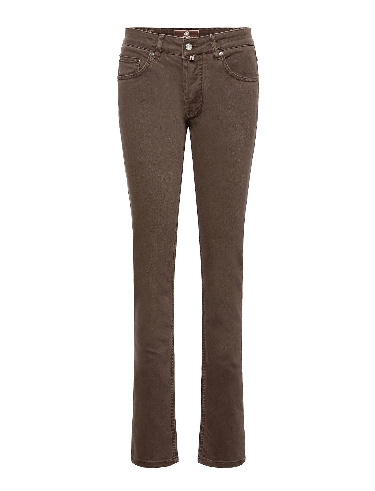 Heritage Raw Jeans Slim Jeans Brun Morris Lady
