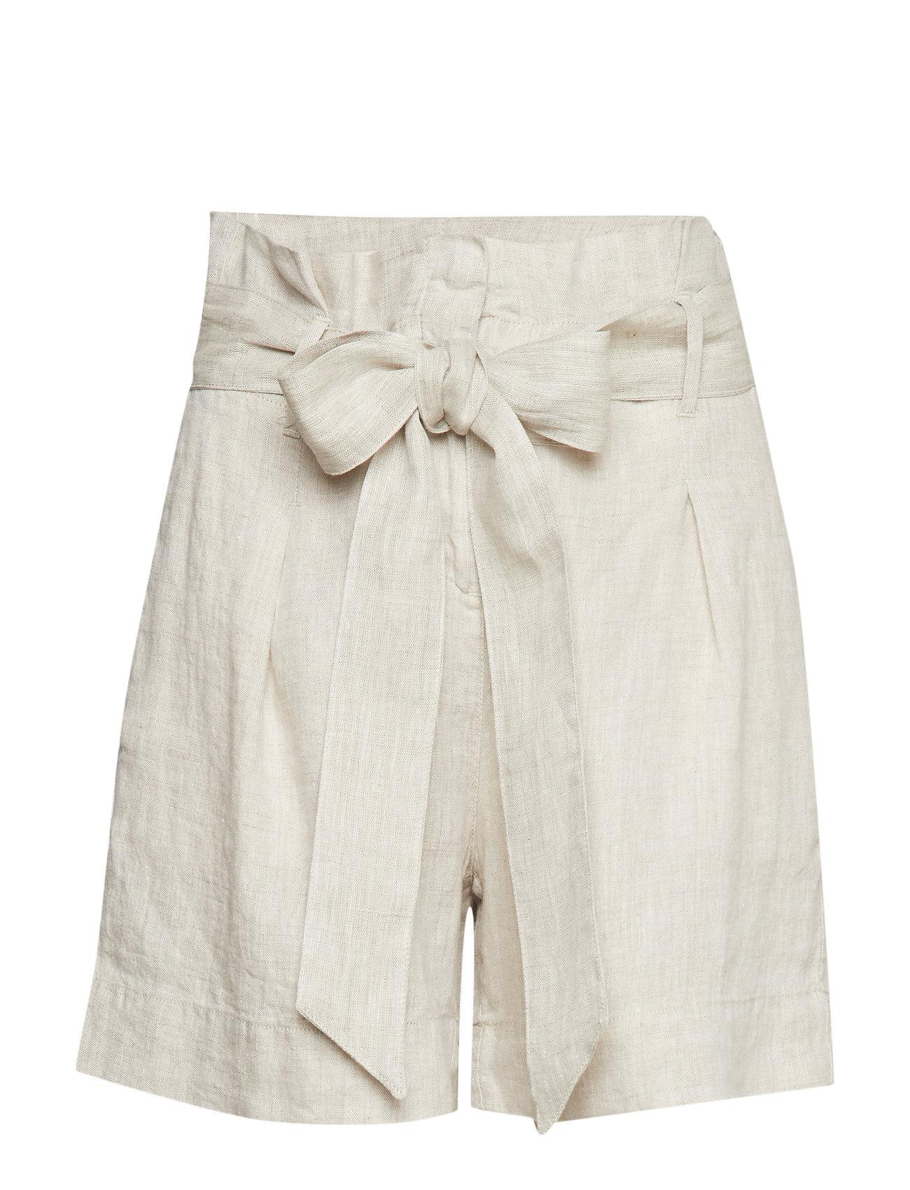 Morris Lady Elba Linen Shorts - KHAKI