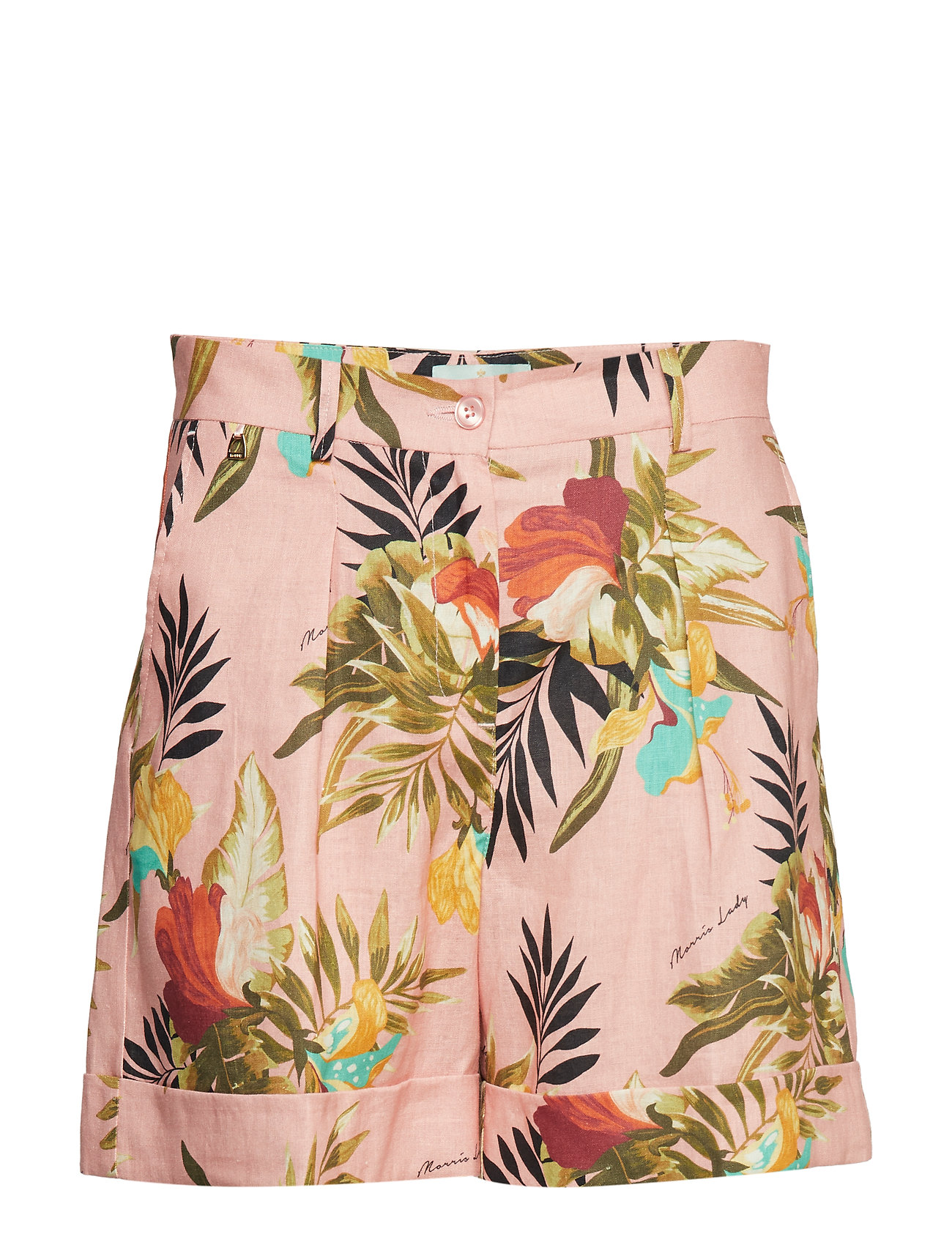 Image of Mara Printed Linen Shorts Shorts Flowy Shorts/Casual Shorts Multi/mønstret MORRIS LADY (3168379097)