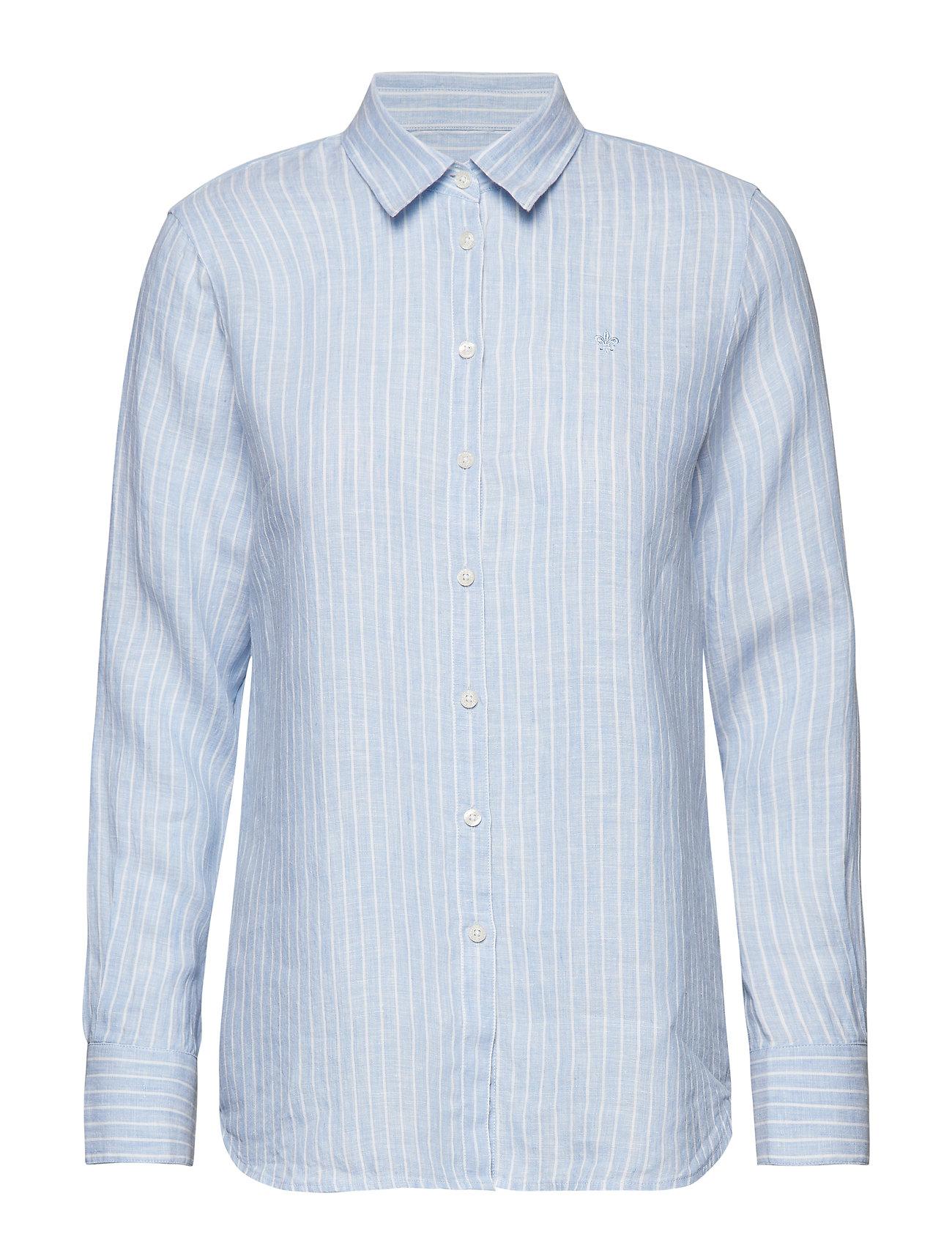 BlueMorris Stripe Shirtlight Linen Kirsten Lady 0k8wOXnP