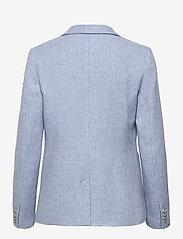 Morris Lady - Delores Herringbone Blazer - casual blazers - light blue - 1