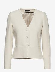 Morris Lady - Basilie Jacket - getailleerde blazers - off white - 0