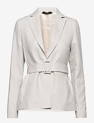 Morris Lady - Tiona Linen Blazer - getailleerde blazers - khaki - 0