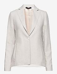 Morris Lady - Tiona Linen Blazer - getailleerde blazers - khaki - 2