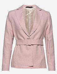 Morris Lady - Tiona Linen Blazer - getailleerde blazers - lt pink - 0