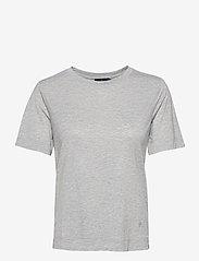 Morris Lady - Jeanie Tee - t-shirts - grey - 0