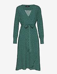 Morris Lady - Aurélie Wrap Dress - wikkel jurken - green - 0