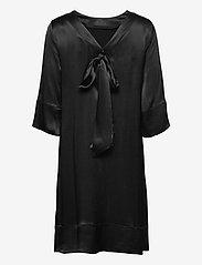 Morris Lady - Aurore Dress - midi dresses - black - 1