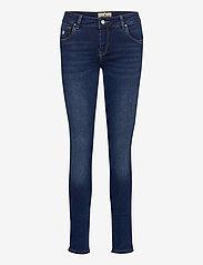 Morris Lady - Monroe Satin Jeans - skinny jeans - blue - 0