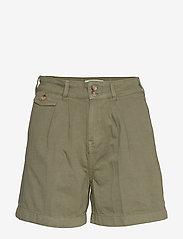 Morris Lady - Paulette Chino Shorts - bermudas - olive - 0