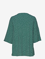 Morris Lady - Délia Blouse - blouses med korte mouwen - green - 1