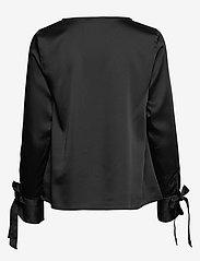 Morris Lady - Kari Blouse - blouses met lange mouwen - black - 1