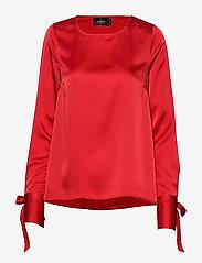 Morris Lady - Kari Blouse - blouses met lange mouwen - red - 0