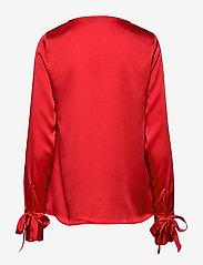 Morris Lady - Kari Blouse - blouses met lange mouwen - red - 1