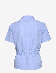 Morris Lady - Ivet Blouse - kortärmade blusar - blue - 1