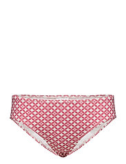 Fae Pattern Bikini Bottom - CERISE