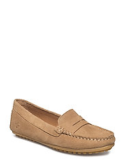 Lady Car Shoe - CAMEL