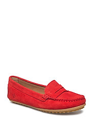 Lady Car Shoe - RED