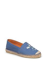 Lily Canvas Espadrille - LIGHT BLUE
