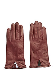 Lily Glove - WINE RED