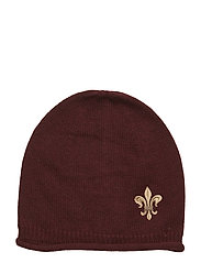 Lady Lily Beanie - WINE RED