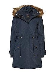 Edith F Down Jacket - BLUE