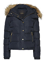 Joelle F Fur Jacket - BLUE