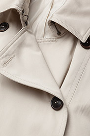 Morris Lady - Scarlett Trench - trenchcoats - off white - 3