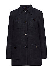 Marea Noir Coat - BLACK
