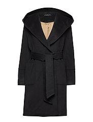 Felice Coat - BLACK