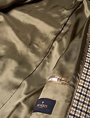 Morris Lady - Maebel Checked Coat - trenchcoats - olive - 4
