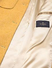 Morris Lady - Marea Herringbone Coat - wool jackets - yellow - 4