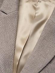 Morris Lady - Delores Herringbone Blazer - casual blazers - khaki - 2