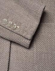 Morris Lady - Delores Herringbone Blazer - casual blazers - khaki - 3