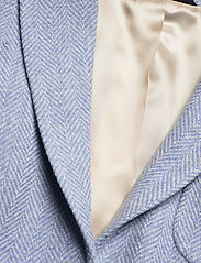 Morris Lady - Delores Herringbone Blazer - casual blazers - light blue - 2