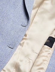 Morris Lady - Delores Herringbone Blazer - casual blazers - light blue - 4