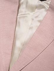 Morris Lady - Tiona Linen Blazer - getailleerde blazers - lt pink - 3