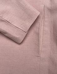 Morris Lady - Tiona Linen Blazer - getailleerde blazers - lt pink - 4