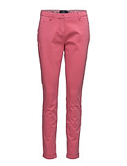 Adelie Chino Pants - CERISE