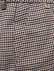 Morris Lady - Arwen Checked Trousers - bukser med brede ben - navy - 2