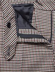 Morris Lady - Arwen Checked Trousers - bukser med brede ben - navy - 3