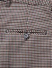 Morris Lady - Arwen Checked Trousers - bukser med brede ben - navy - 4