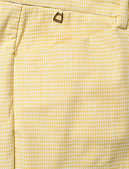 Morris Lady - Anais Checked Trousers - broeken med straight ben - yellow - 2