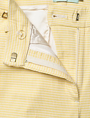 Morris Lady - Anais Checked Trousers - broeken med straight ben - yellow - 3